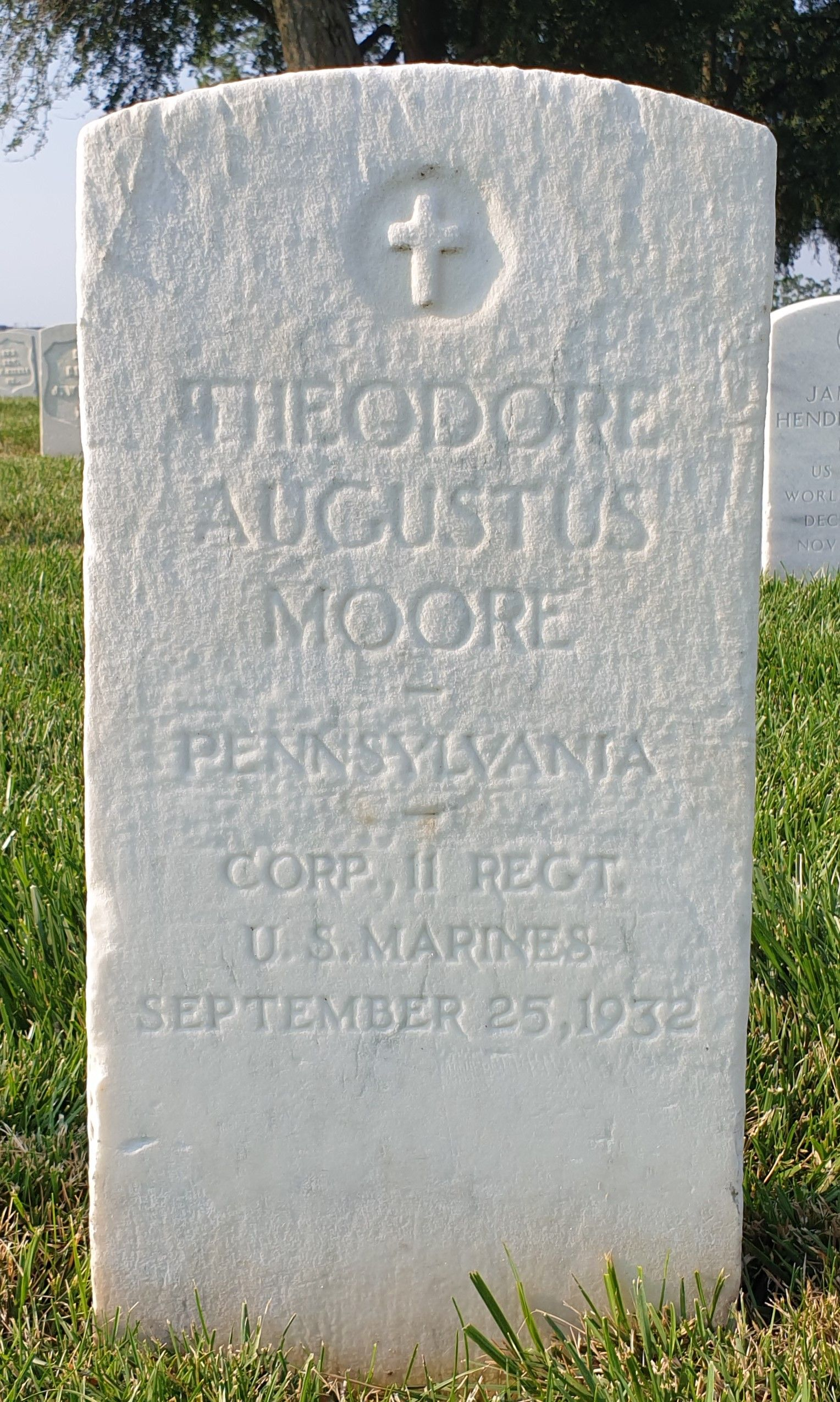 Officer Theodore Augustus Moore   Maryland State Police, Maryland
