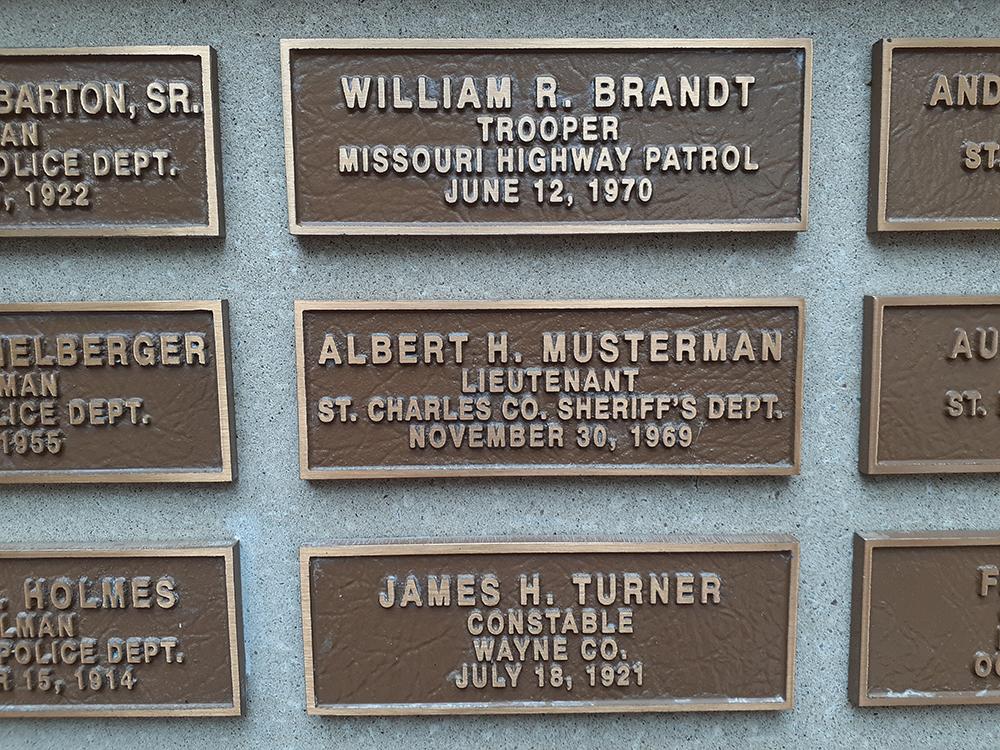 Lieutenant Albert H. Musterman | St. Charles County Sheriff's Office, Missouri