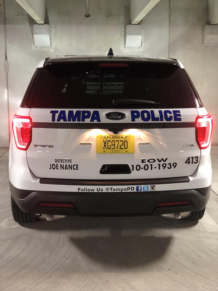 Detective Joe Nance | Tampa Police Department, Florida