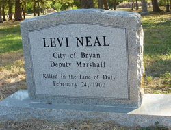 Deputy City Marshal Levi Neal | Bryan Police Department, Texas