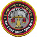 New York City Fire Department - Bureau of Fire Investigation, New York
