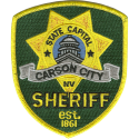 Carson City Sheriff's Office, Nevada