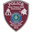 West Texas A&M University Police Department, Texas